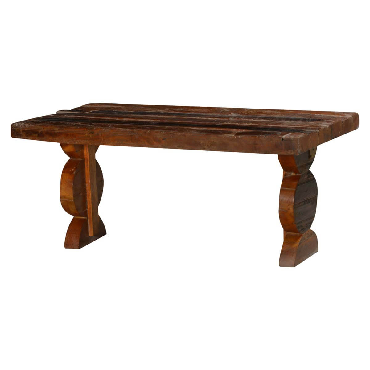 Matching pawns reclaimed wood accent coffee table Matching coffee table and end tables