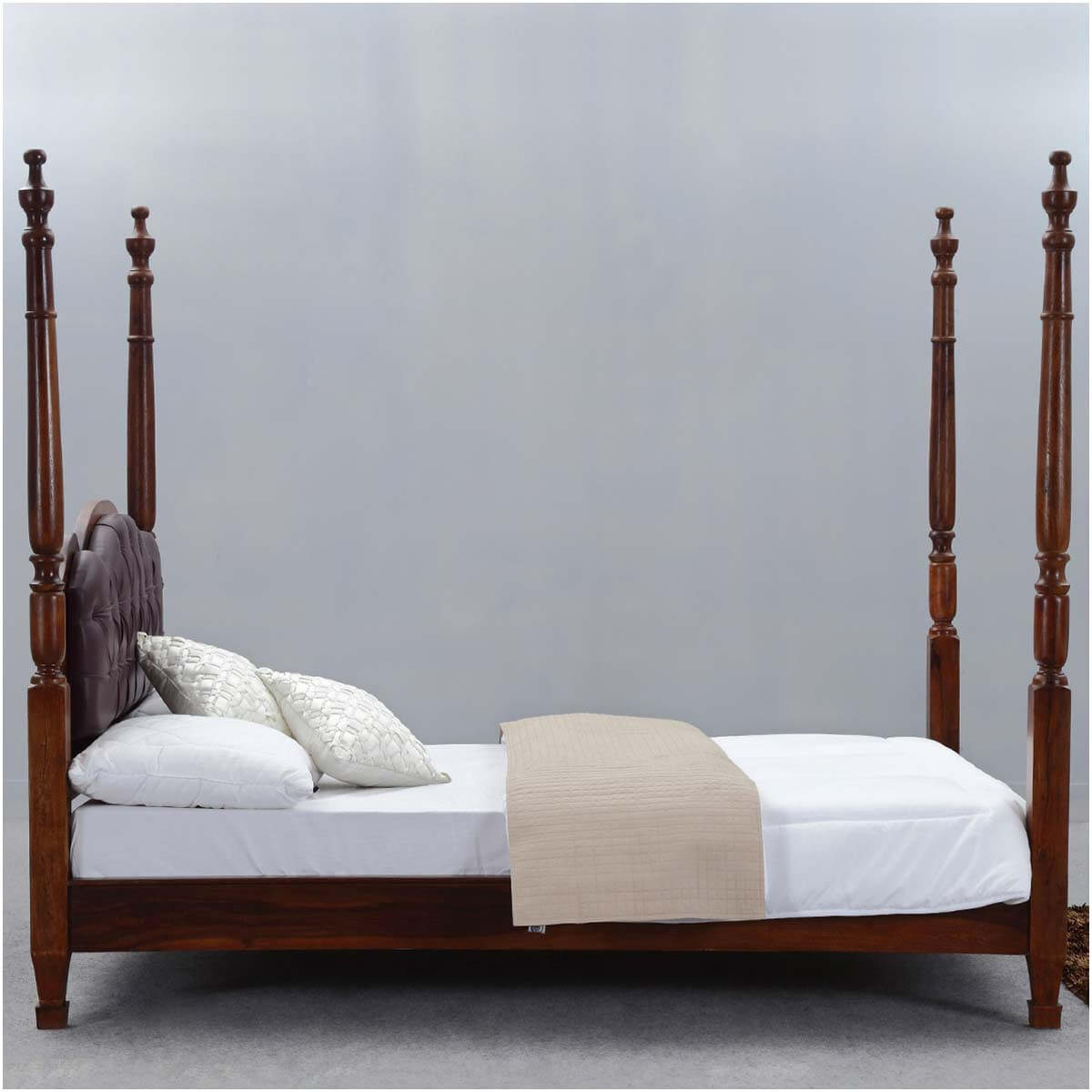 Four poster king size bed frame