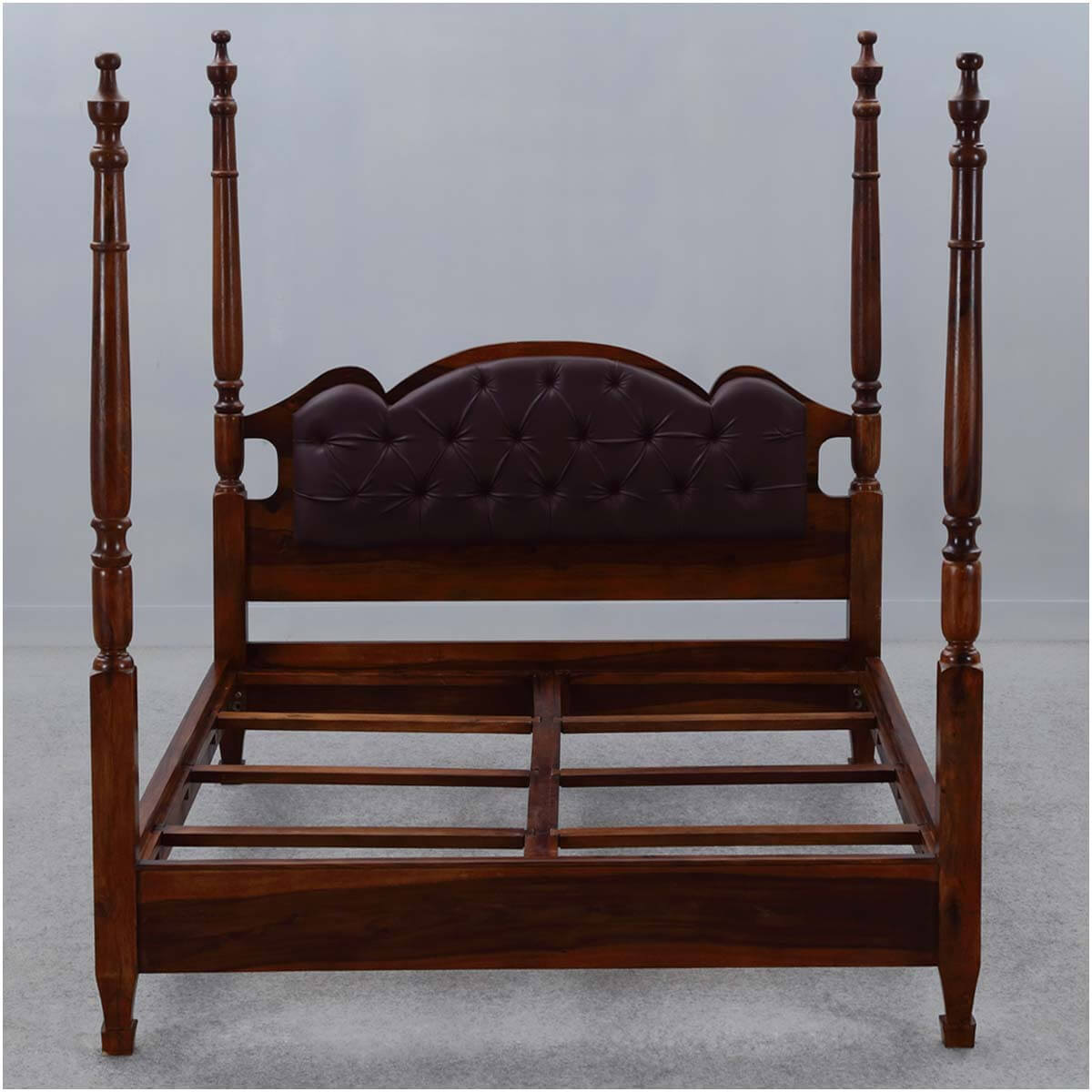 four poster king size bed frame english tudor solid wood
