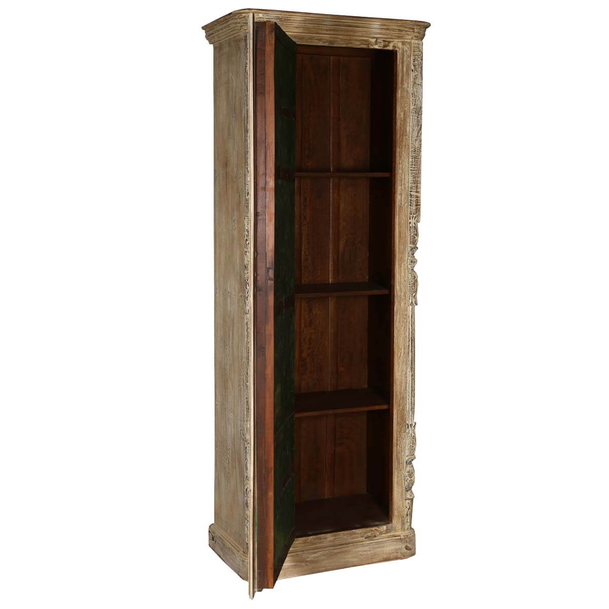 white wood armoire 28 images winter white tudor. Black Bedroom Furniture Sets. Home Design Ideas