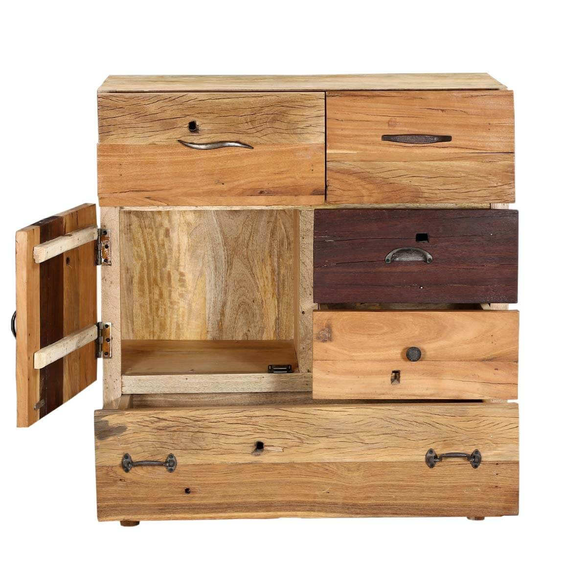 #6B4428  Rack Dessau 35 Solid Wood Modern 5 Drawer Rustic Dresser Bureau Chest with 1200x1200 px of Best Solid Wood Drawer Chest 12001200 image @ avoidforclosure.info