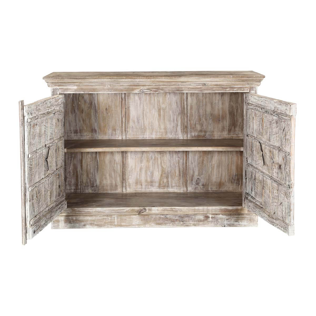 Palazzo 55 Light Brown Rustic Dining Sideboard Cabinet