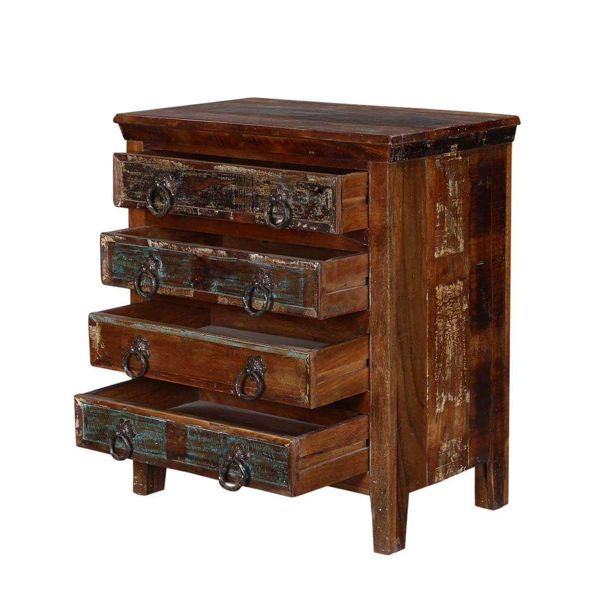 Turquoise trail 30 rustic 4 drawer medium brown for A p furniture trail