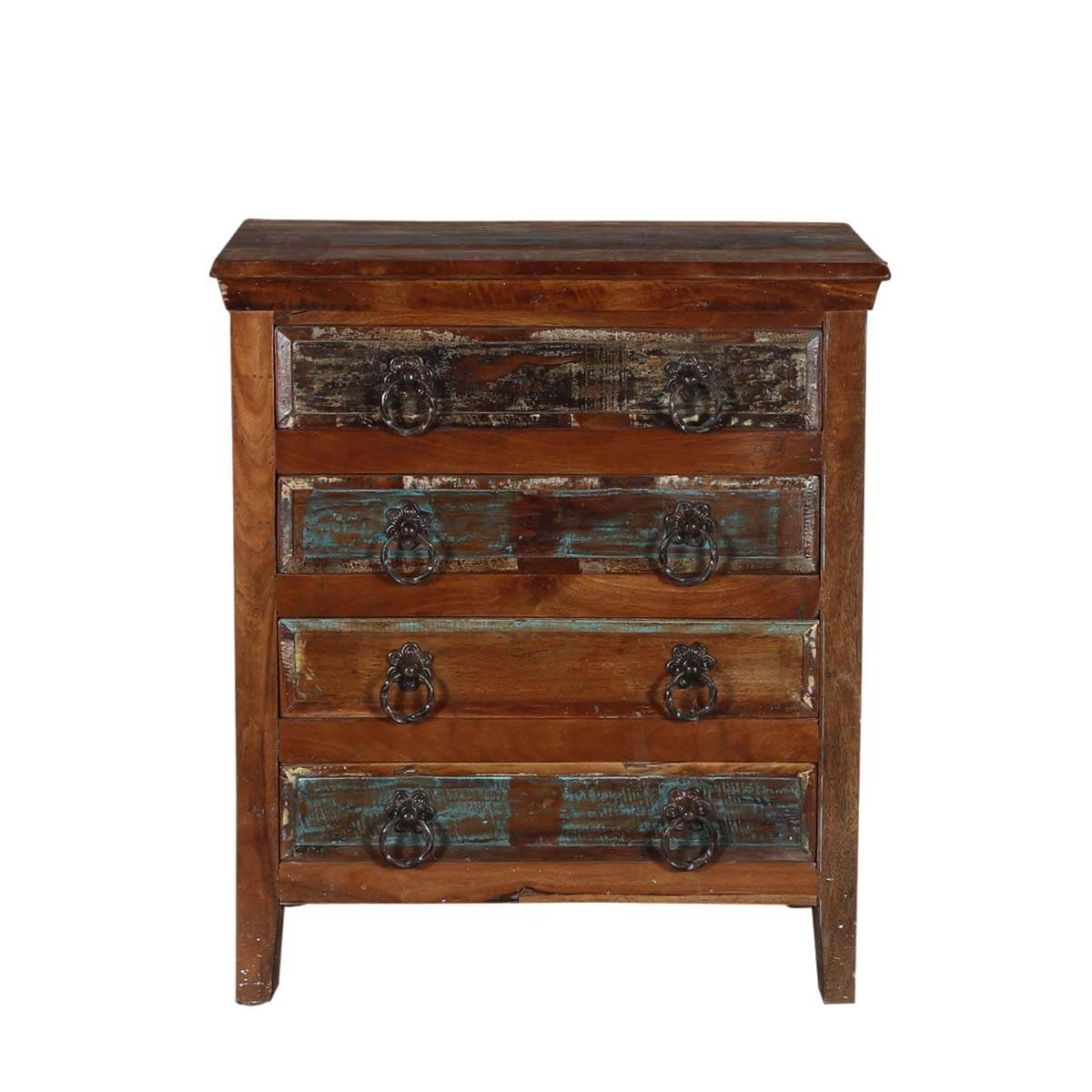 Turquoise Trail 30 Quot Rustic 4 Drawer Medium Brown