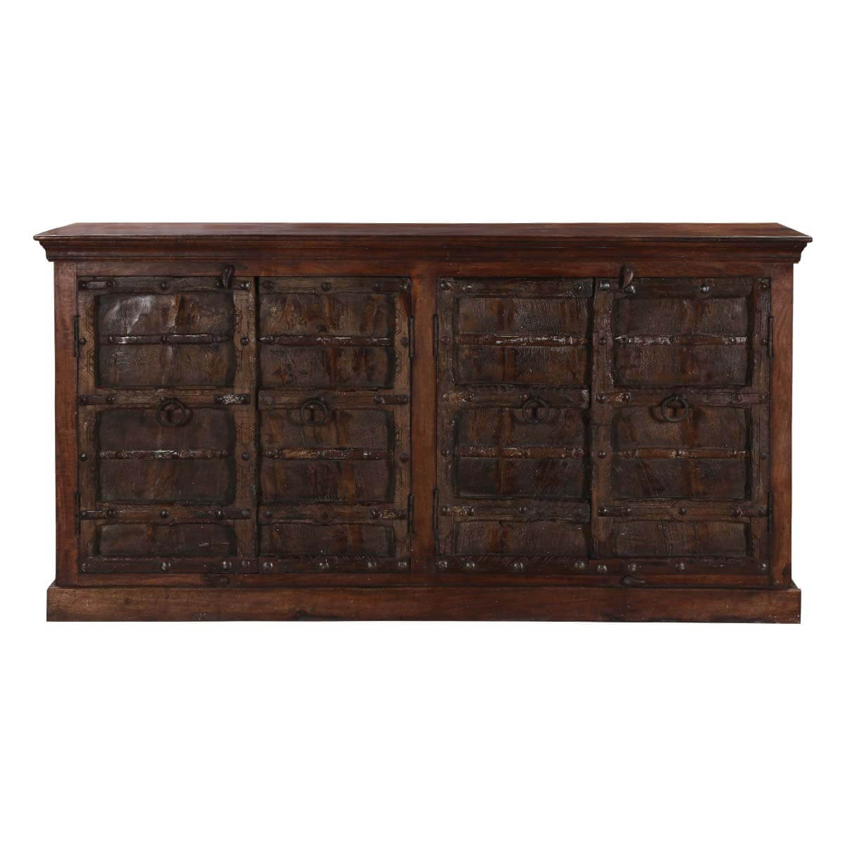 Home Rustic Wood Furniture Gothic Gates Buffet Cabinet Sideboard Made . Full resolution  photograph, nominally Width 1200 Height 1200 pixels, photograph with #B28C19.