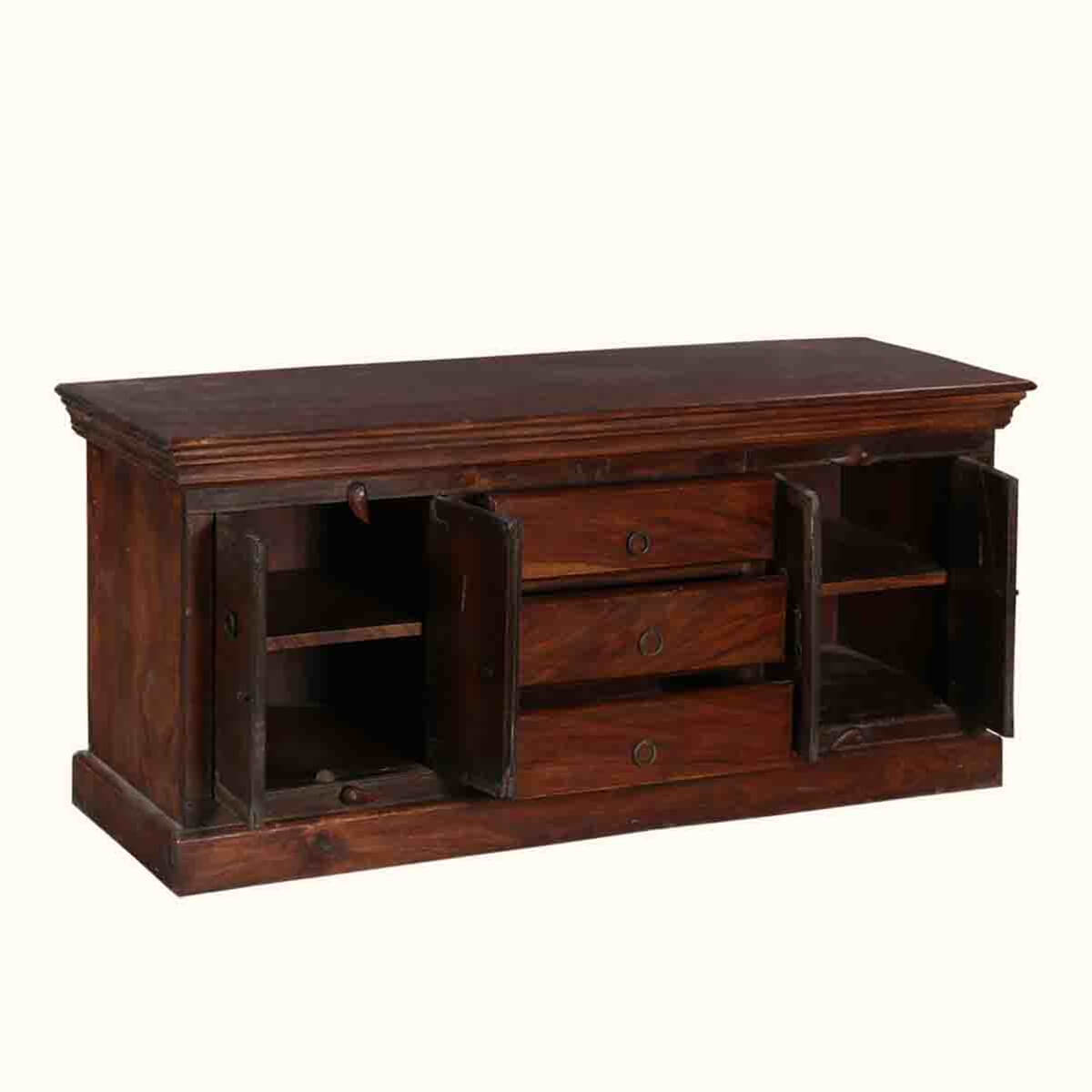 """Arrivals Rustic Gothic Mango & Reclaimed Wood 50"""" Sideboard Cabinet. Full resolution  photograph, nominally Width 1200 Height 1200 pixels, photograph with #B98112."""