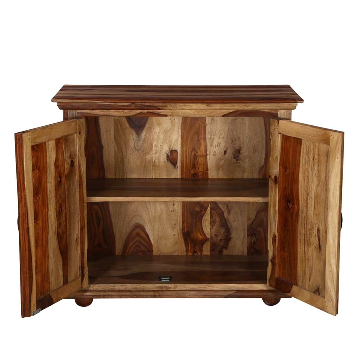 Dallas ranch rustic solid rosewood freestanding buffet cabinet for Rosewood ranch cost
