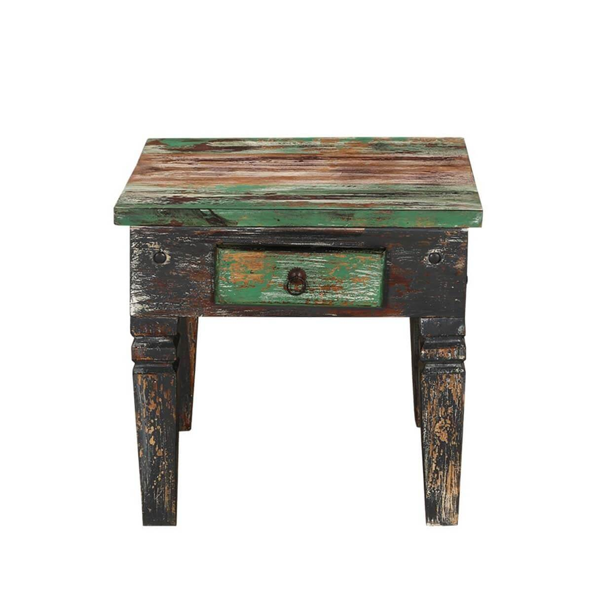 maine traditional solid wood 1 drawer accent end table. Black Bedroom Furniture Sets. Home Design Ideas
