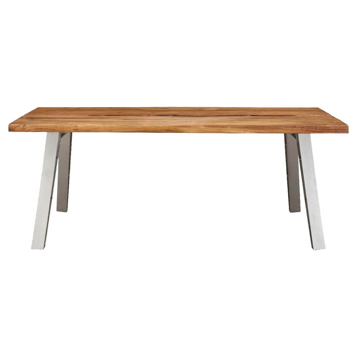 Madrid Large Wooden Dining Table with Iron Legs : 80983 from www.sierralivingconcepts.com size 1200 x 1200 jpeg 120kB