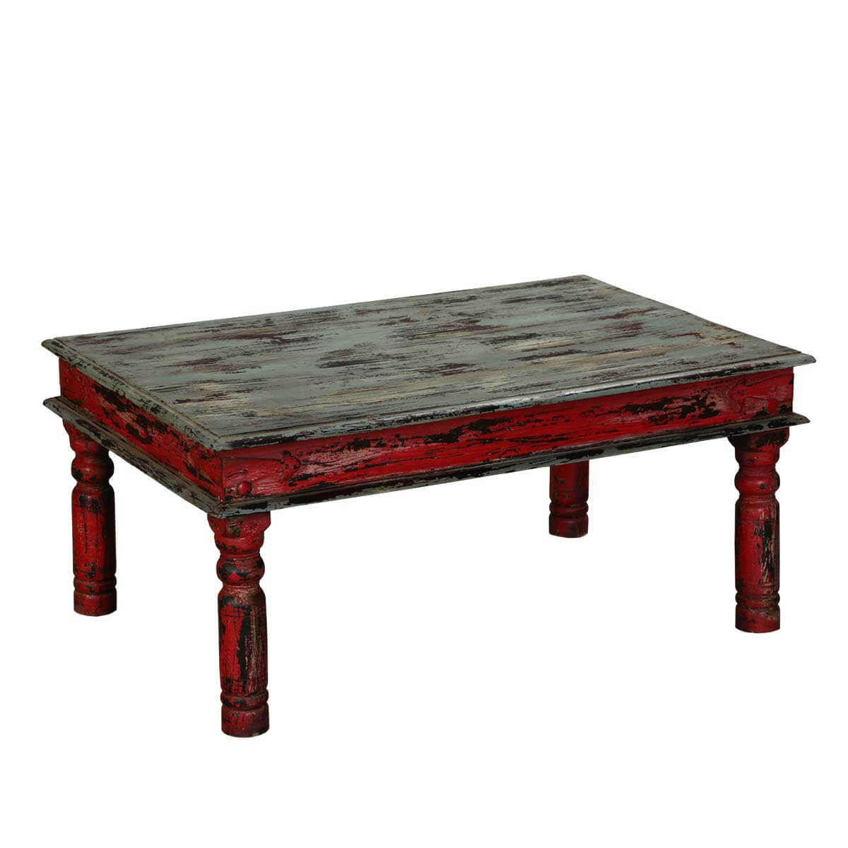 Libby Mango Wood Rustic Coffee Table