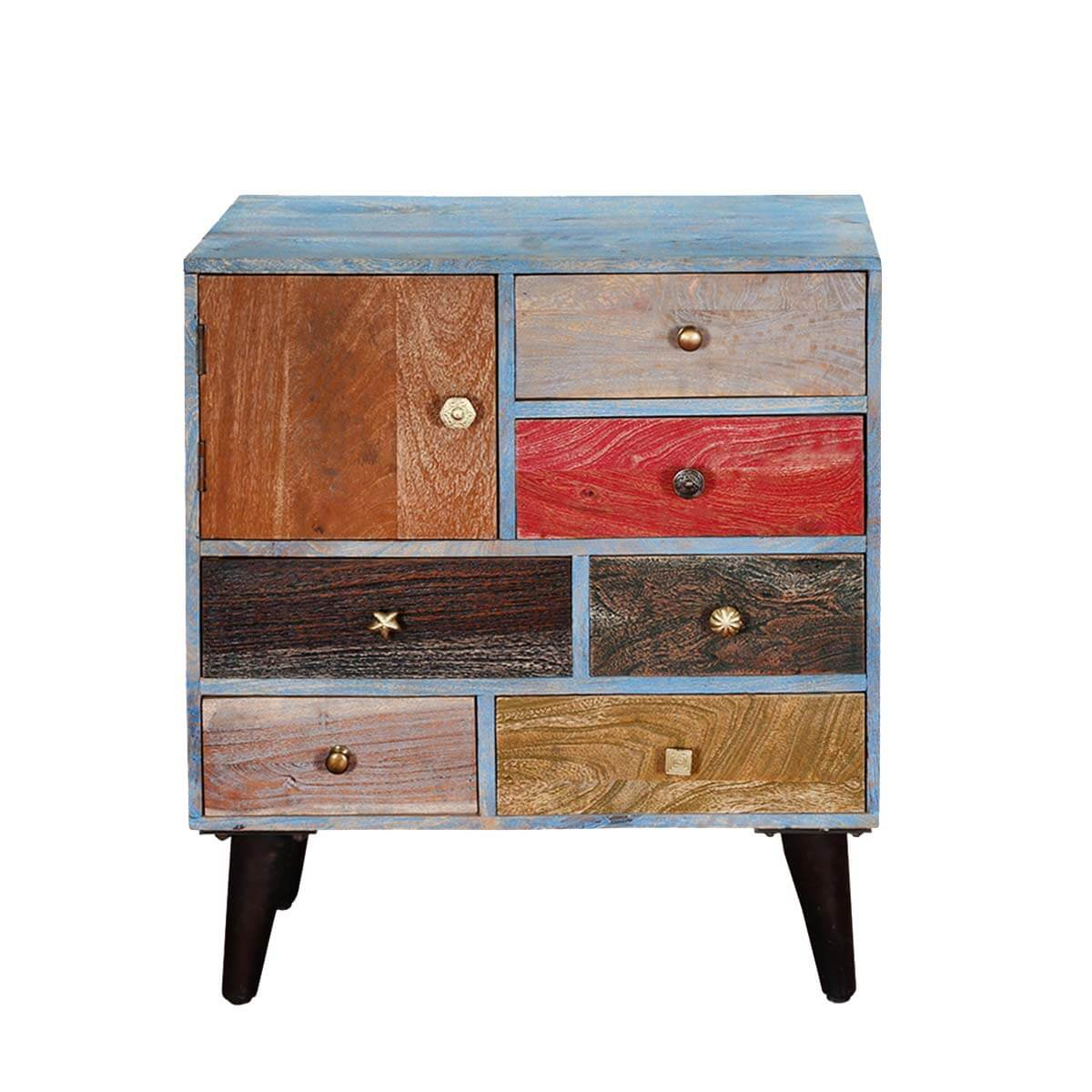Reclaimed Wood Furniture Storage Cabinets Primary Colors Mango Wood . Full resolution  photograph, nominally Width 1200 Height 1200 pixels, photograph with #B48317.