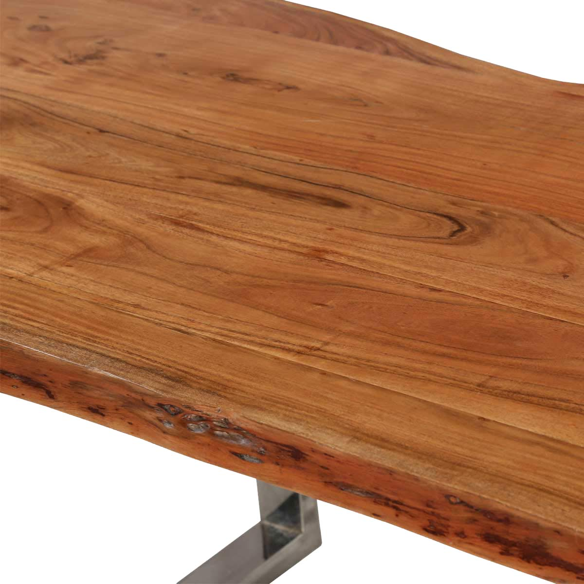 Furniture By Room Dining Room Dining Tables Natural 78 Acacia Wood . Full resolution  photograph, nominally Width 1200 Height 1200 pixels, photograph with #B27F19.