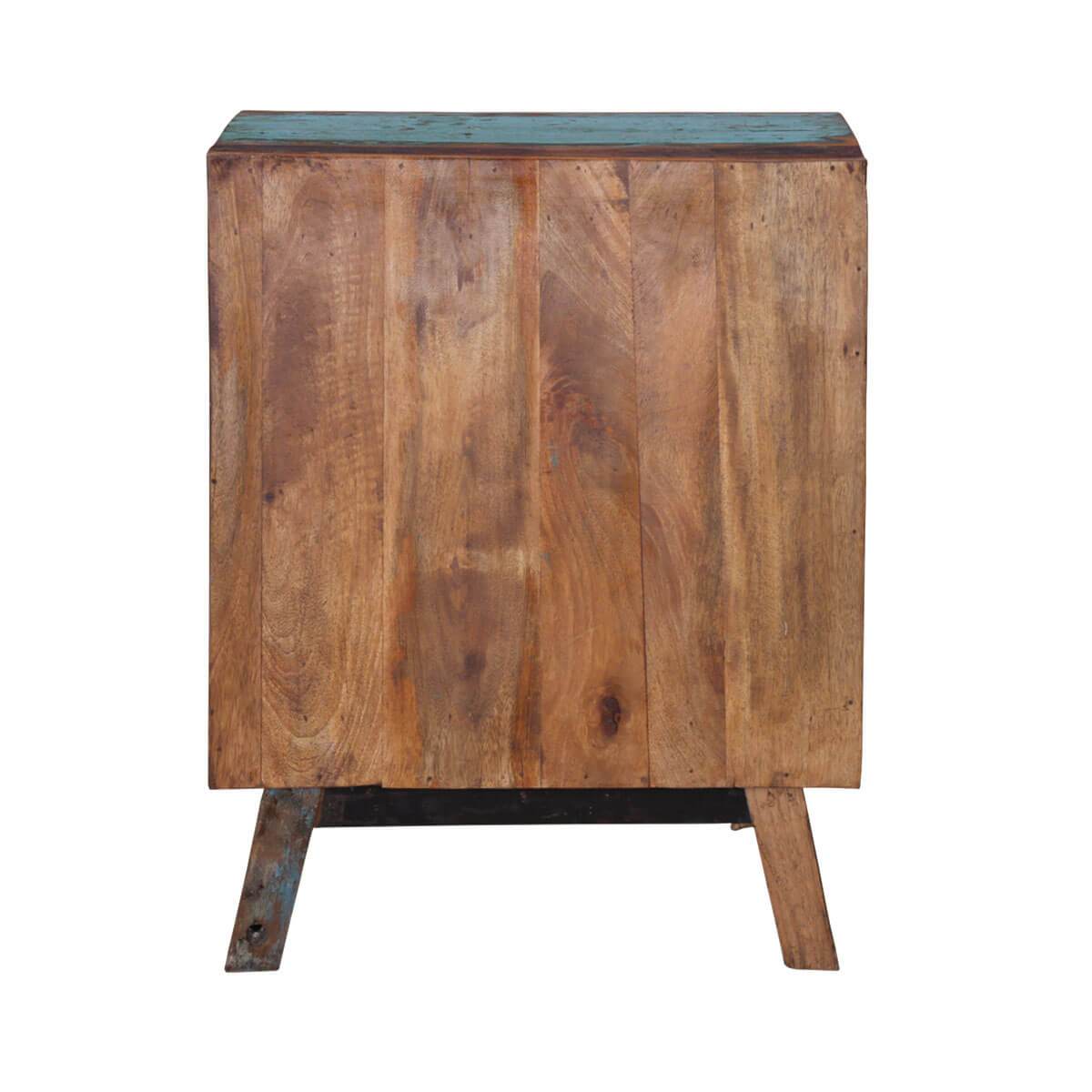 Anaheim Alphabet Handcrafted 4 Drawer Reclaimed Wood Chest Of Drawer