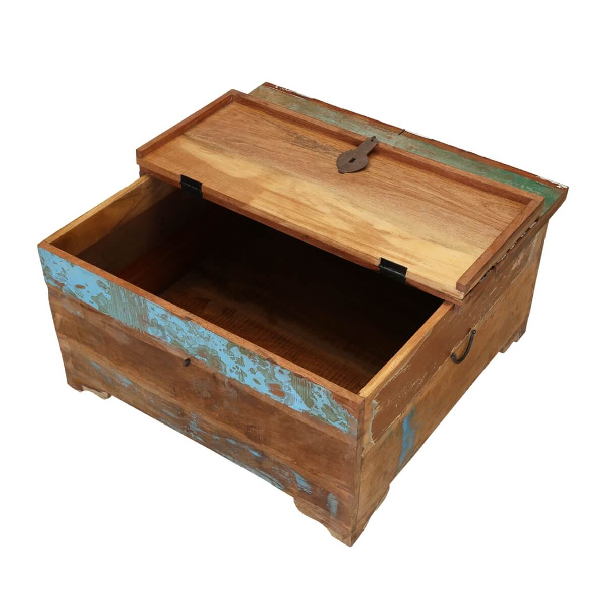 Appalachia Handcrafted Reclaimed Wood Coffee Table Trunks