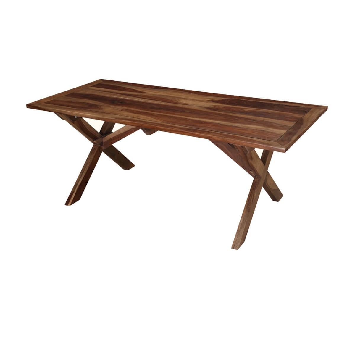 traditional american rosewood picnic style dining table. Black Bedroom Furniture Sets. Home Design Ideas