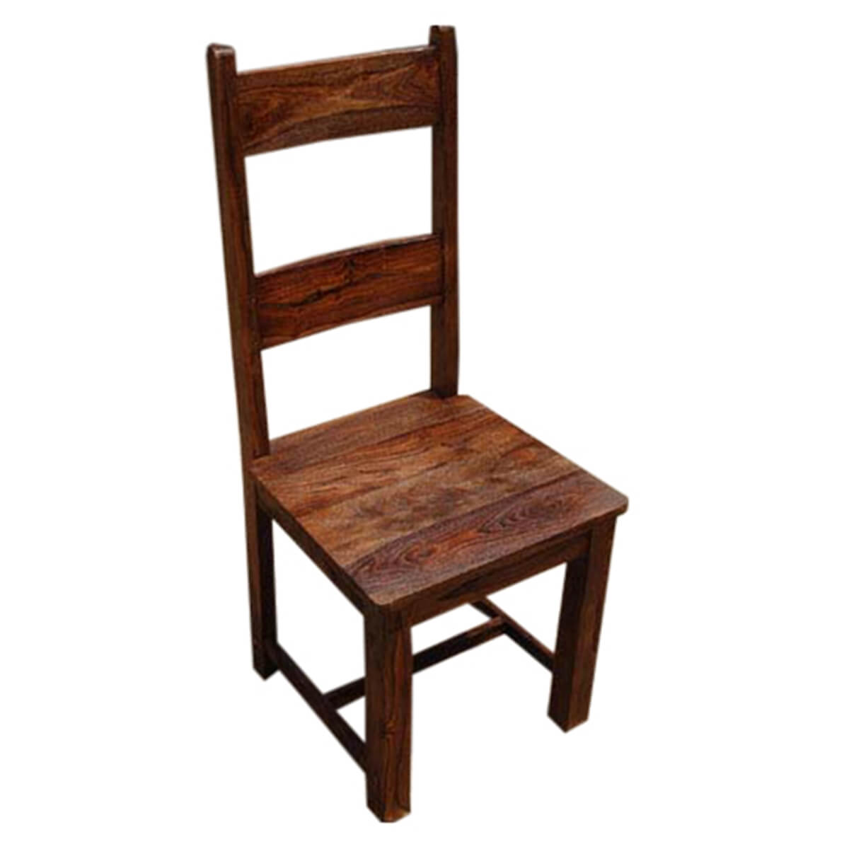 Kitchen Dining Chairs Solid Wood 8: Rustic Solid Wood Appalachian Dining Room Table & Chair Set