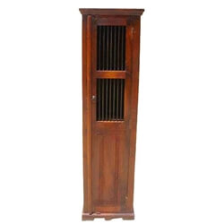 Country Corner Stand Storage Cabinet Shelf Rack Unit
