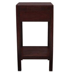Contemporary Indian Rosewood Night Stand End Table