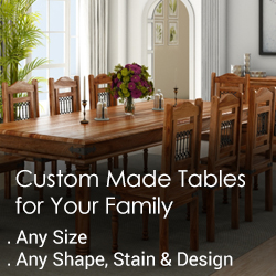 Custom Made Dining Table for You Family