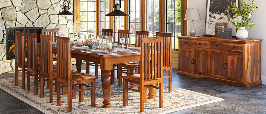 Swell Custom Made Rustic Dining Room Furniture Download Free Architecture Designs Rallybritishbridgeorg