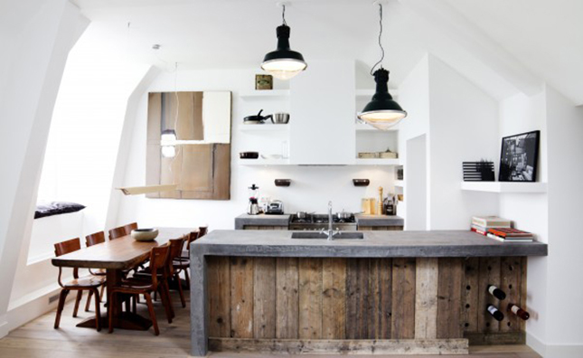 Reclaimed Wood Kitchen Island - Sierra Living Concepts BlogSierra ...