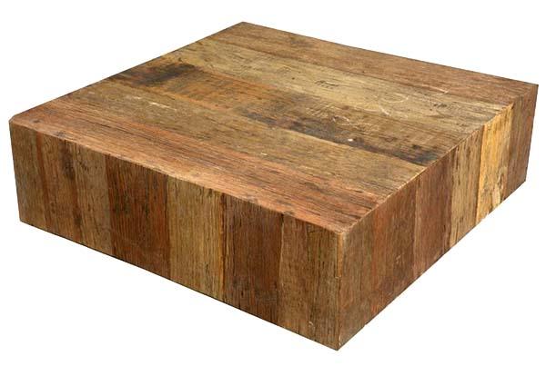 sierra living concepts railroad ties rustic wood coffee table