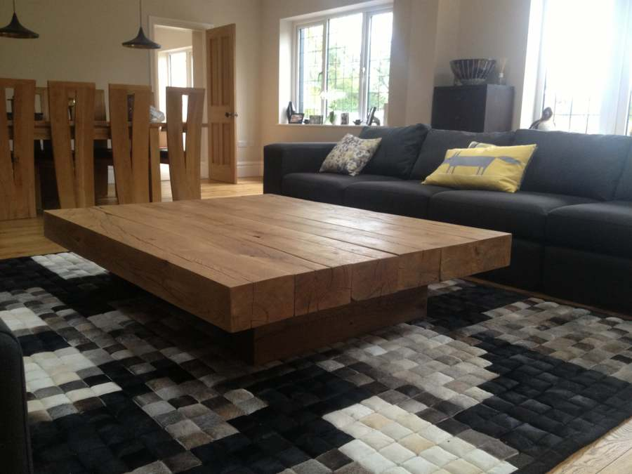 Large Square Coffee Table Sierra Living Concepts Blog
