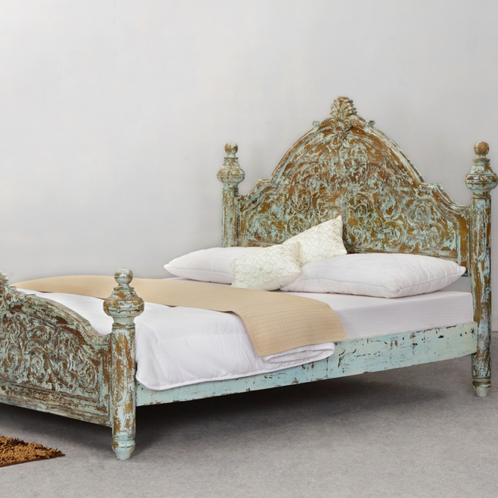 victorian-winter-white-mango-wood-platform-bed-frame-w-high-headboard