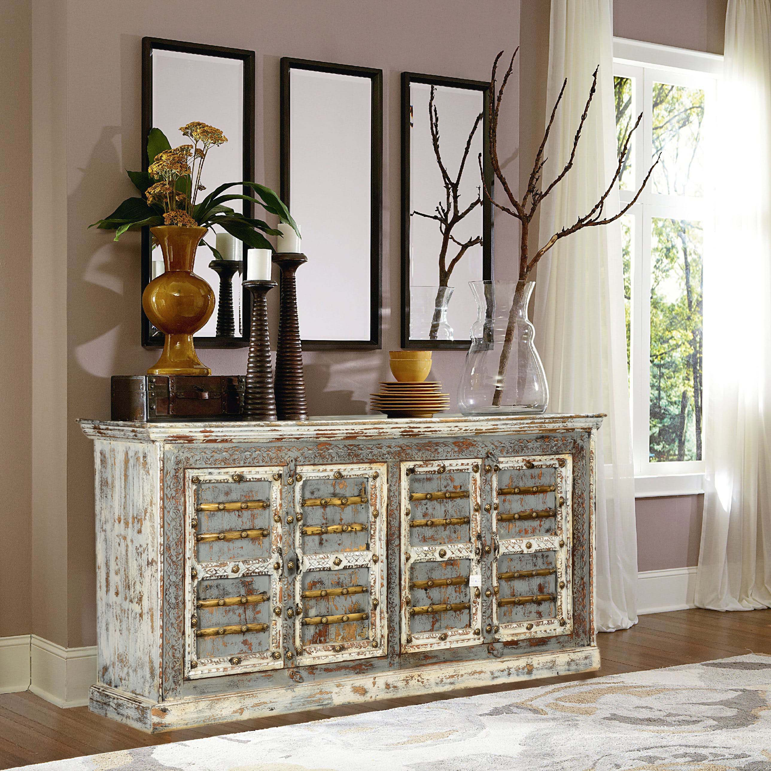rustic accent sideboard buffets. accent furniture for a beautiful visual appealsierra living