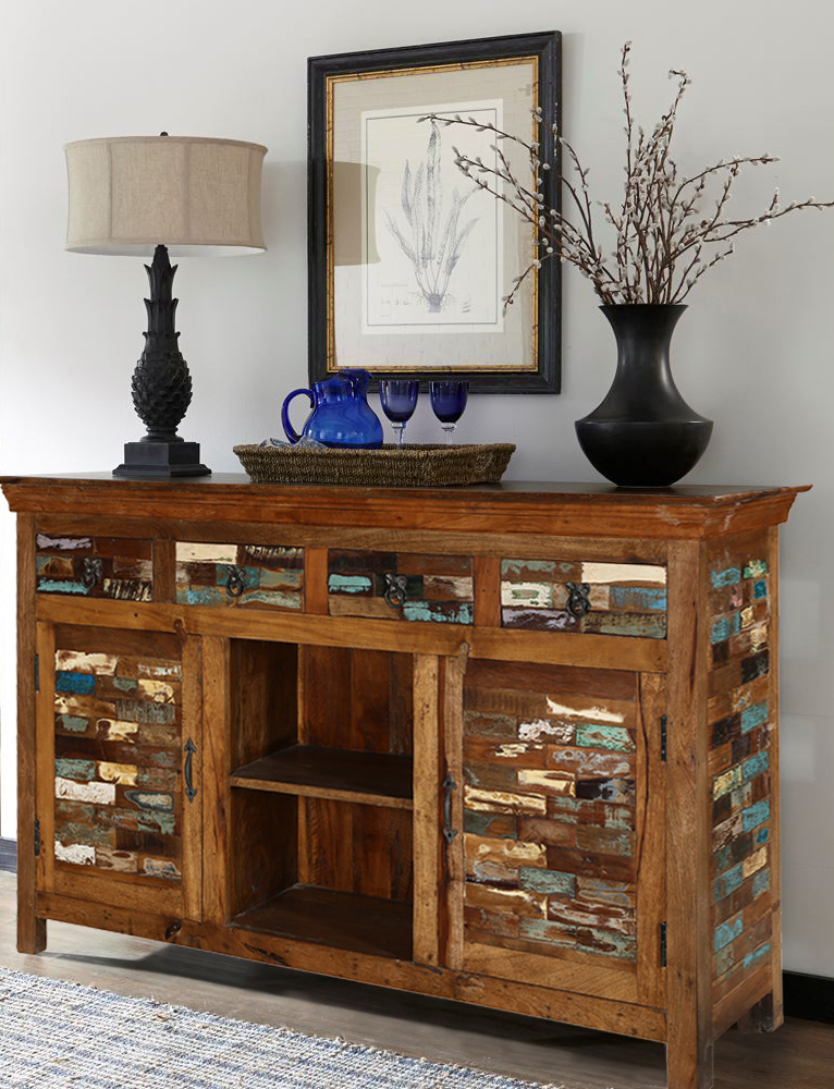 Rustic Accent Sideboard & Buffets Furniture
