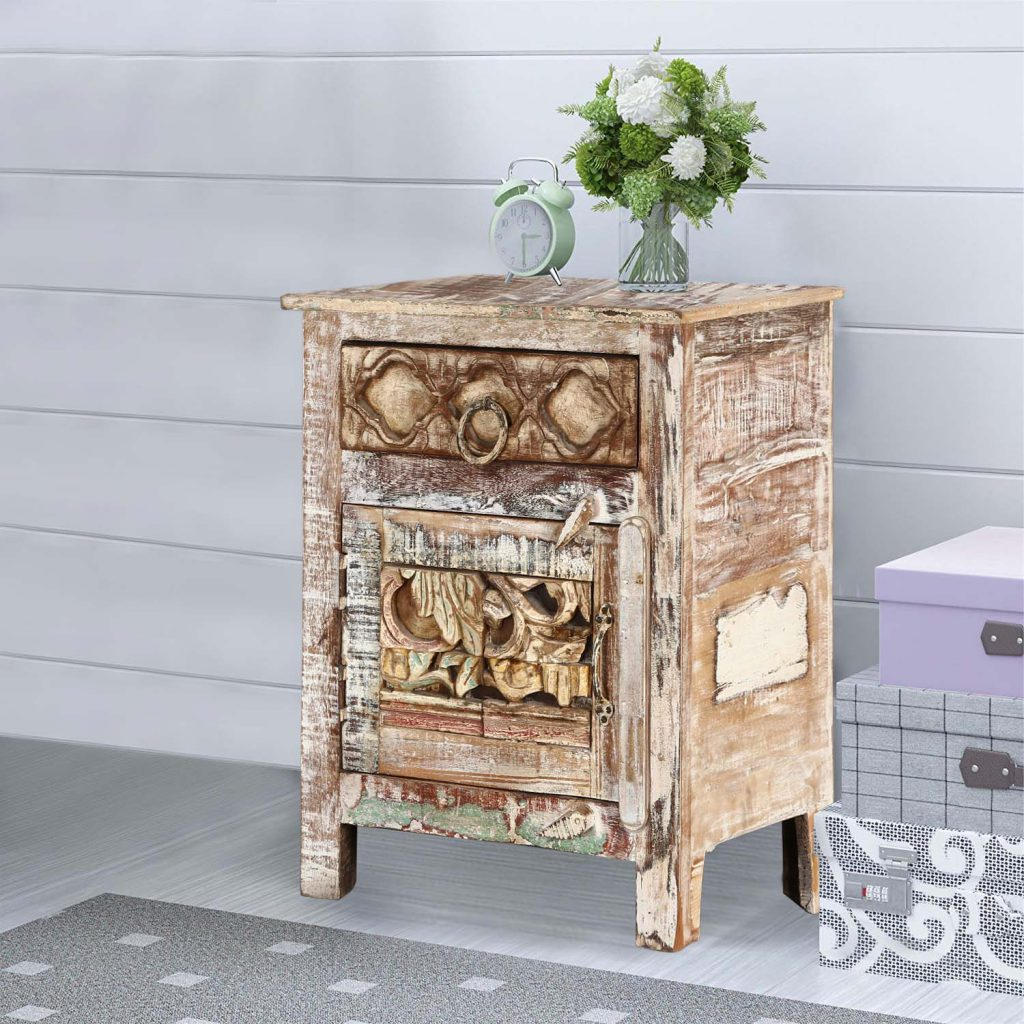 Rustic Accent End Table