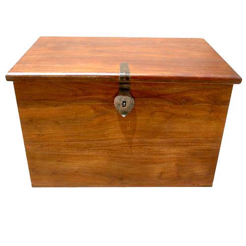 Grinnell Solid Wood Handmade Storage Box Cabinet Trunk