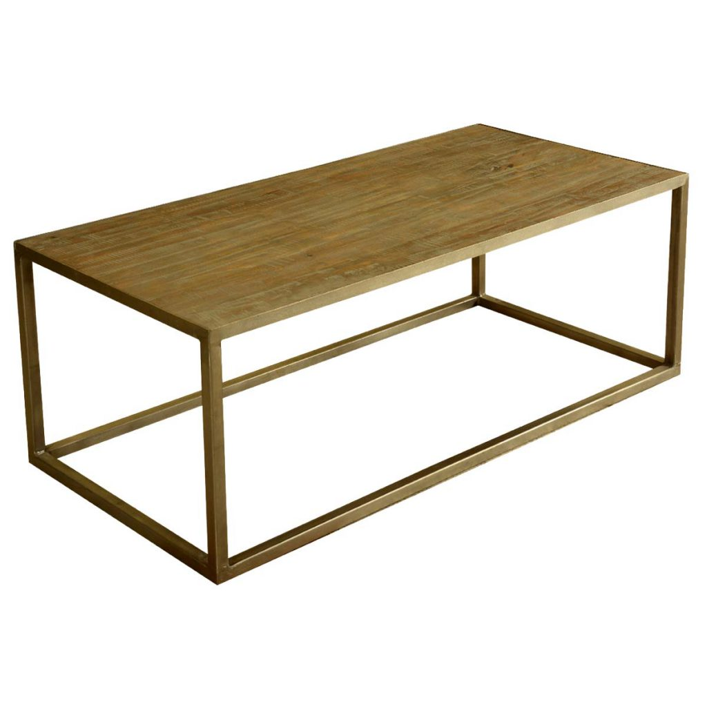 Modern Farmhouse Mango Wood 5p Cabinet & Coffee Table Collection