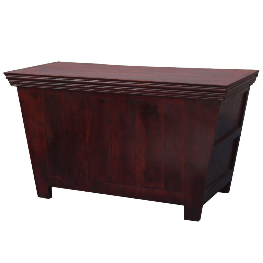 Mission Russet Solid Wood Tapered Coffee Table Chest