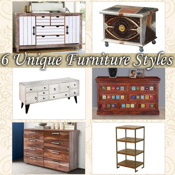 6 Unique Furniture Styles (& How to Mix & Match them)
