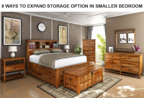 8 Ways to Expand Storage Option in Smaller Bedroom