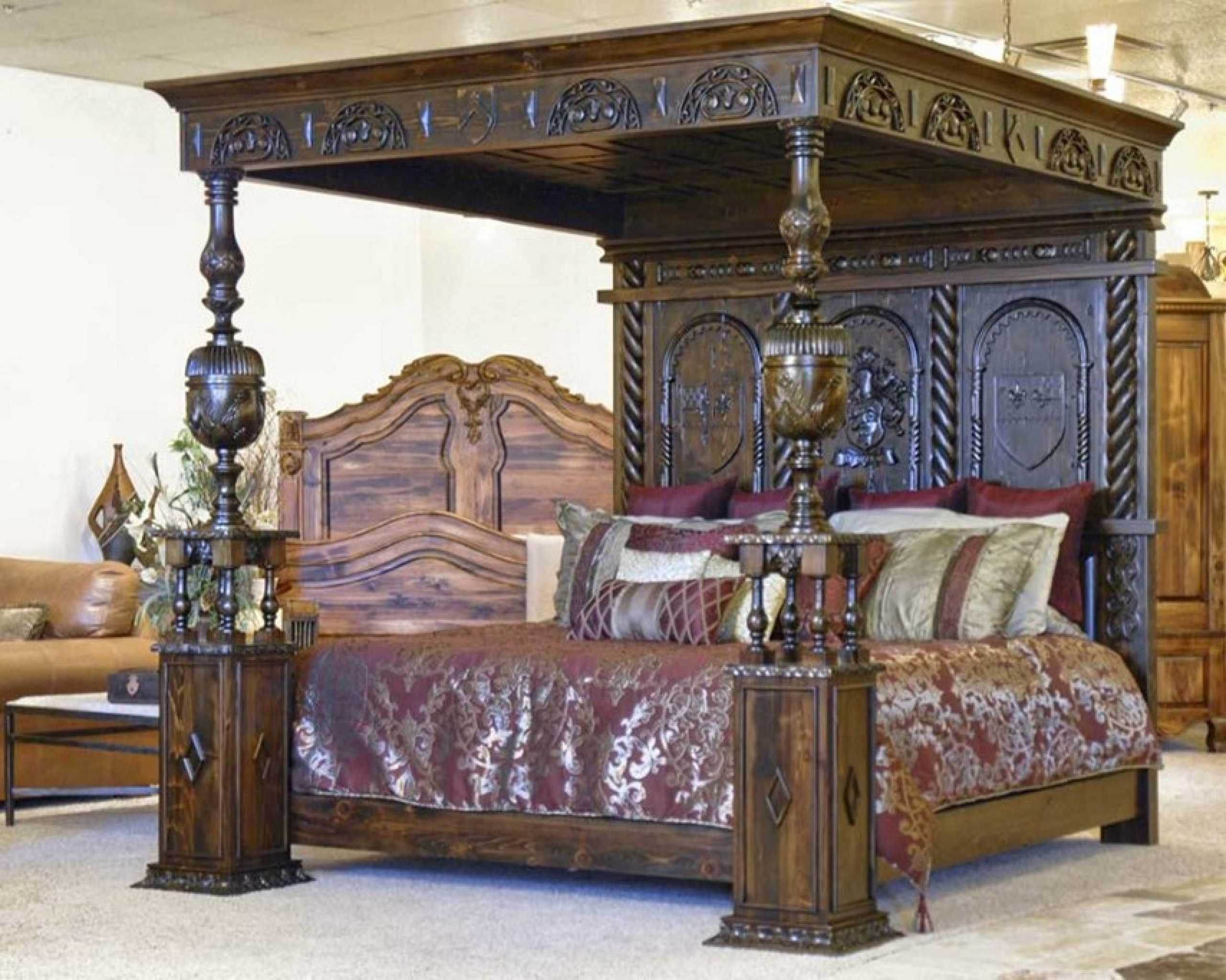 Bedroom Gothic Furniture Canopy Ideas And Inspirations Sets 854x683
