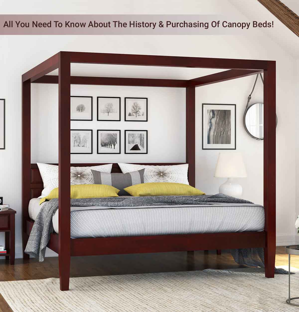 c1eab79bab59 All You Need To Know About The History & Purchasing Of Canopy Beds!