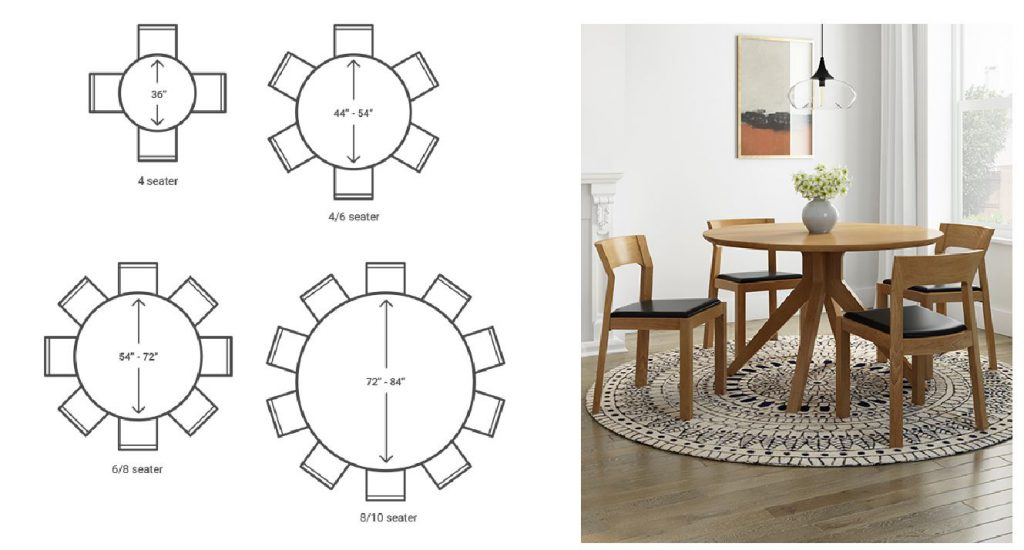 4 Steps For Ing A Dining Table, Round 10 Seat Dining Table