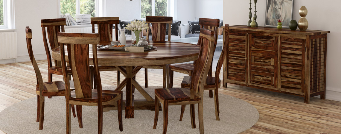 bedford-rustic-solid-wood-x-pedestal-10-piece-round-dining-room-set