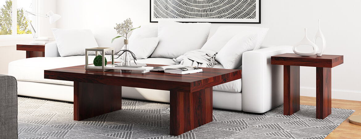 Magnificent Contemporary Rustic Wood 3 Piece Large Coffee Table And End Table Set Beatyapartments Chair Design Images Beatyapartmentscom
