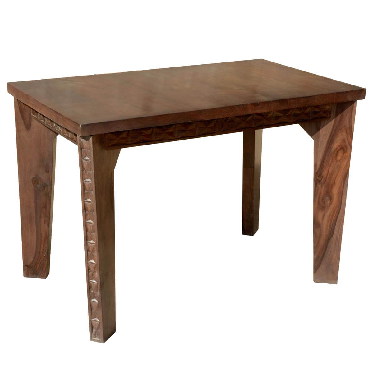 Geometric Hand Carved Solid Wood Turned Leg Dining Table : 4709 from www.sierralivingconcepts.com size 1200 x 1200 jpeg 72kB