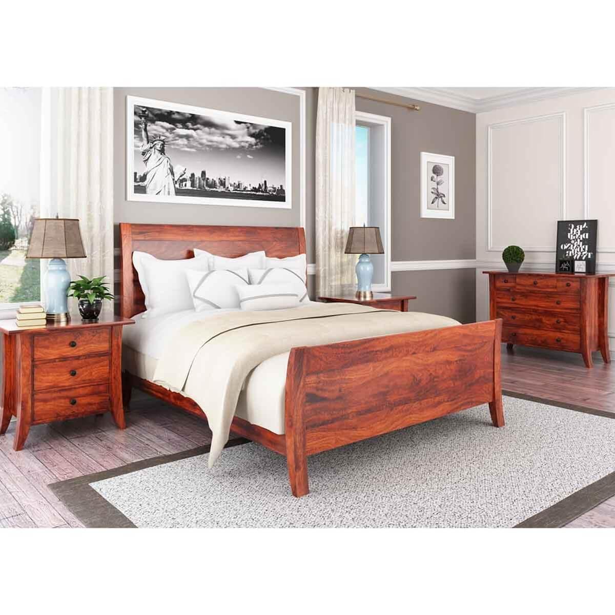 Georgia Modern 4 Piece Bedroom Set