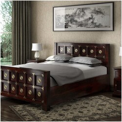 madison-solid-wood-brass-accent-platform-bed-w-foot-headboard