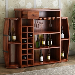 california-handcrafted-rustic-14-bottles-wine-rack-with-9-shelves