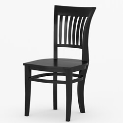 Sierra Nevada Solid Wood Kitchen Side Dining Chair Furniture
