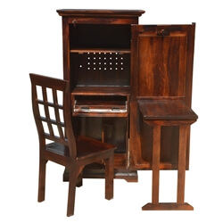 solid-wood-computer-hutch-desk-storage-cabinet