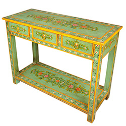 spring-garden-hand-painted-tropical-hardwood-console-table