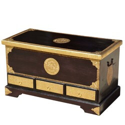 asian-mango-wood-brass-inlay-advance-drawer-coffee-table-chest