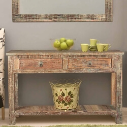 rustic-reclaimed-wood-naturally-distressed-hall-console-table